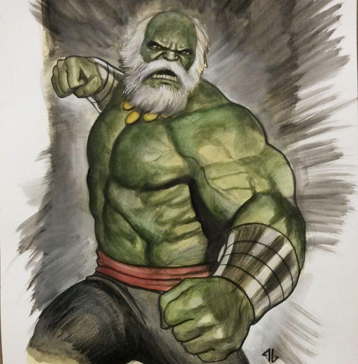 Old Hulk by Adi Granov *
