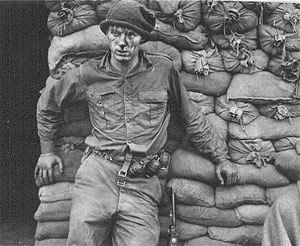 A Canadian soldier (PPCLI I think) just returned from a Korean War patrol