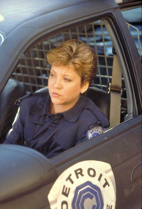 """Still of Nancy Allen in """"Robocop"""" (1987)"""