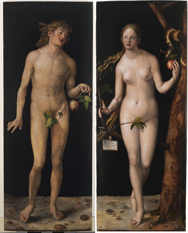 Albrecht Dürer - Adam and Eve (Prado) 2 - プラド美術館 - Wikipedia