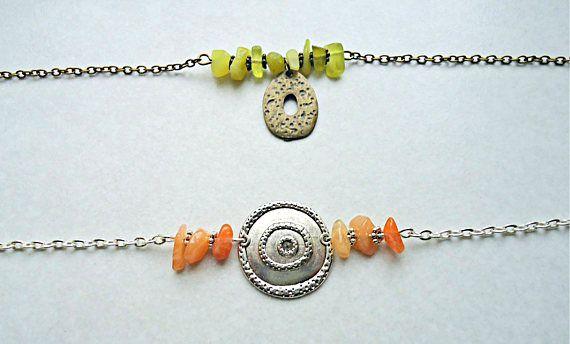 Bracelet argenté aztèque bracelet ethnique bracelet