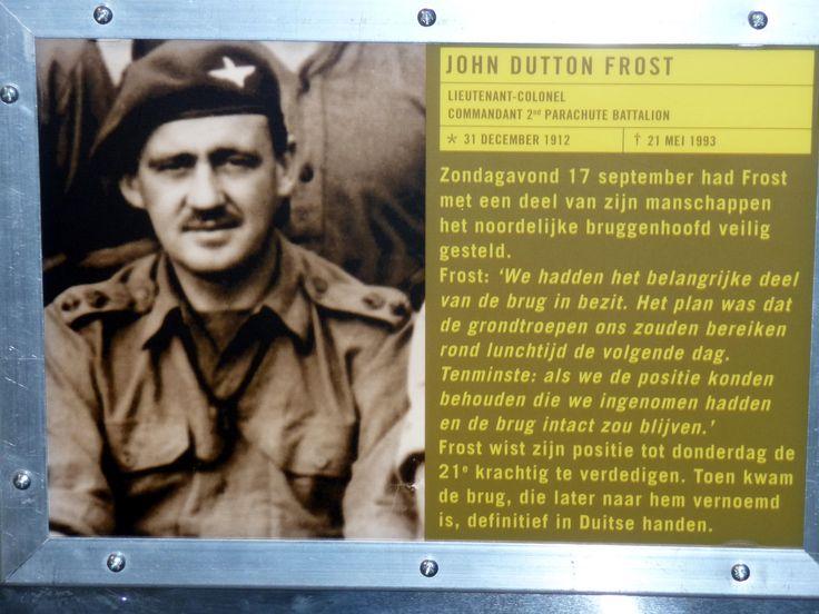John Frost Brytyjski – niezwykle bohaterski dowódca obrony mostu w Arnhem
