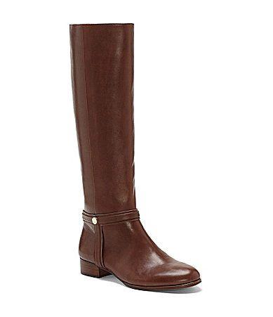 Louise Et Cie Valeblore Tall Harness Boots   Dillards.com  http://www.vincecamuto.com/valeblore/LO-VALEBLORE.html#prefn1=colorcode&start=1&sz=12&srule=priceLowHigh&prefv1=Brown%7CBeige