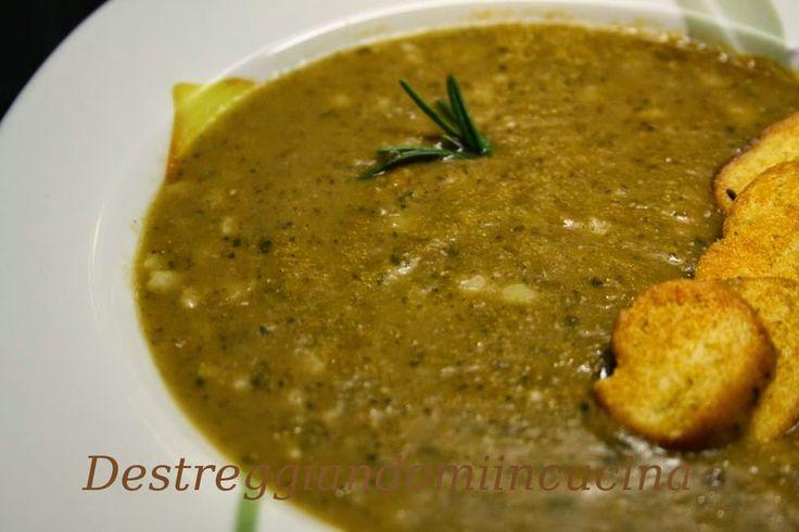 Destreggiandomi in cucina: Minestra di legumi a modo mio #legumi #minestra #recipe #primipiatti #vegetable #beans