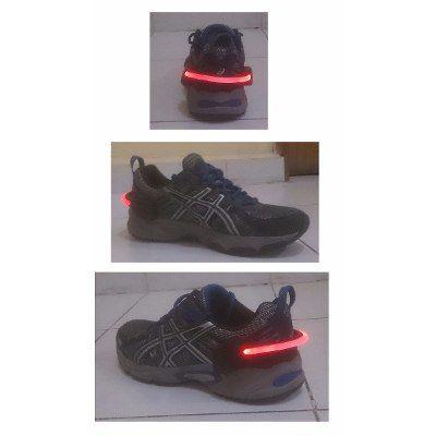Clip Pulsera Luz Led Seguridad Para Zapatos Ciclismo Correr - $ 99.00