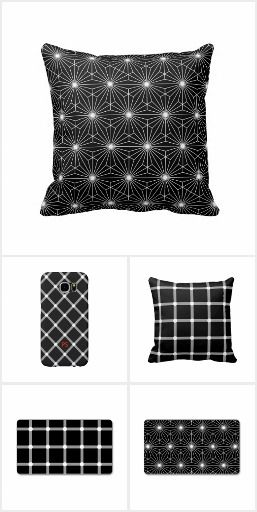 Black and White Optical Illusion Gifts, Business Cards and home furnishings from #PatternStore