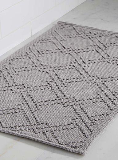 Le tapis de bain treillis 50x80 cm | Simons