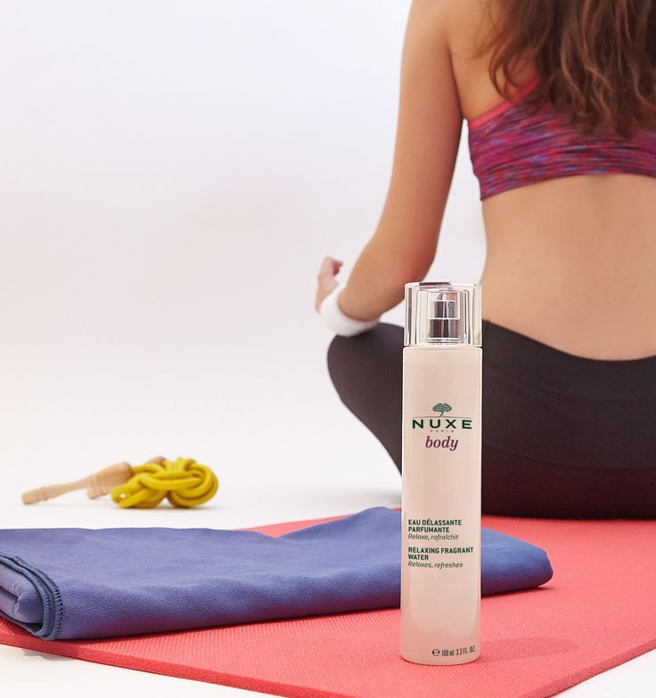 Eau Délassante Parfumante NUXE Body #NUXE #NuxeBody #Yoga #Body #Corps