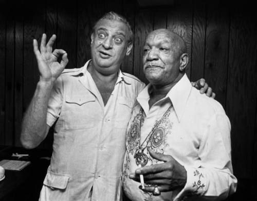 Comedy legends, Rodney Dangerfield and Redd Foxx. Pioneers!