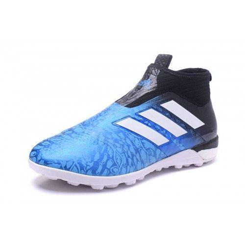 Adidas ACE - Scarpe Da Calcio 2017 Adidas ACE Tango 17 Purecontrol TF Blu Nero Migliore