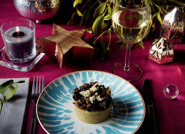 """Quinoa, szafran, shitake, ślimaki... Jak mawiają niektórzy: """"Na bogato!"""" ;) Kolejny przepis wyróżniony w konkursie #mojpieknystol"""