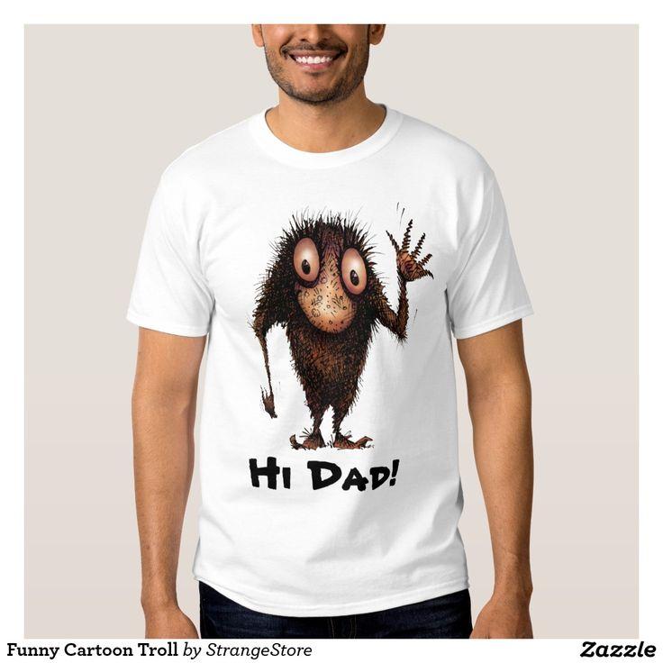 Funny Cartoon Troll Shirt from #StrangeStore