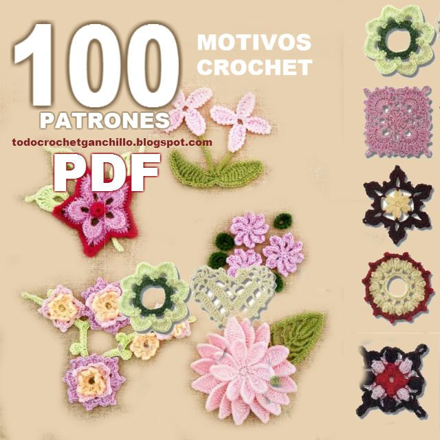 Magnífico Patrones Libres Flor De Ganchillo Viñeta - Ideas de ...