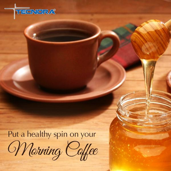 In addition to being a natural sweetener, Honey is also known for its antibacterial properties which help in preventing cold and flu during winter season. Put a healthy spin on your morning coffee, by adding a few drops of honey to it instead of sugar or artificial sweetners.