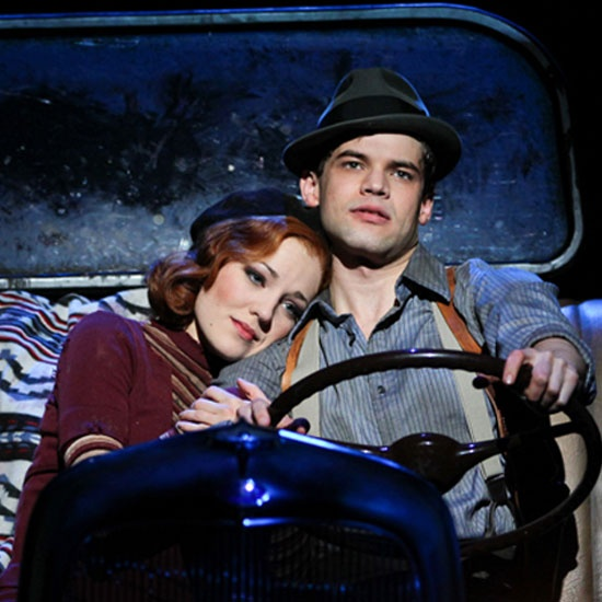 """Bonnie & Clyde,"" nominated for Best Original Score (Music and/or Lyrics) Written for the Theatre (Music: Frank Wildhorn, Lyrics: Don Black), Best Performance by an Actress in a Leading Role in a Musical (Laura Osnes)"