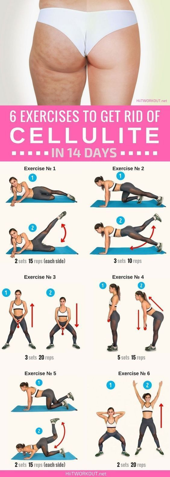 Get rid of cellulite #workout #cellulite