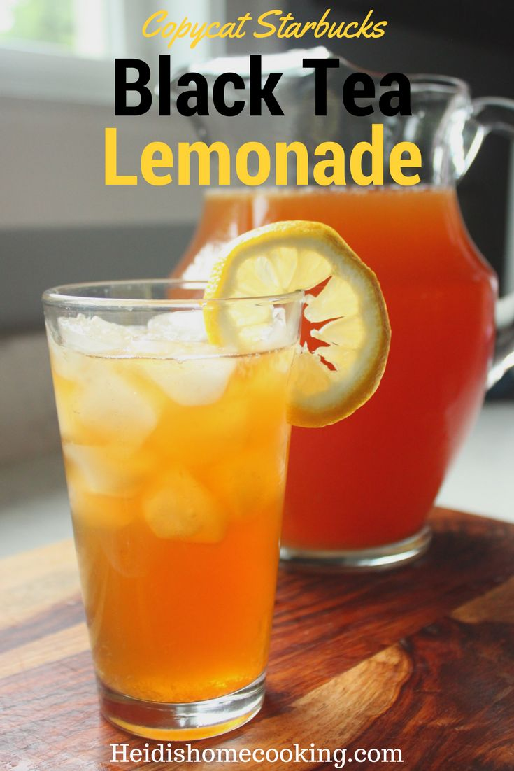 Want a refreshing Starbucks Iced Black Tea Lemonade without paying big bucks? This copycat Starbucks drink recipe will bring all the flavor of your favorite black tea lemonade straight into your kitchen without the giant price tag. Similar to an Arnold Palmer, it is the perfect summer beverage to serve to your friends while sitting at the pool or grilling out. Follow the simple directions with your favorite flavor of tea (passion, green, peach, blackberry, etc) and have a variety of…