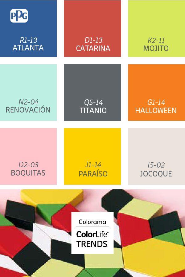 Colorama mezcla los colores pasteles con los tonos m s intensos para crear combinaciones audaces - Colores para la concentracion ...