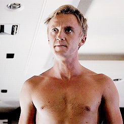 """And Tom Felton is super into Slytherin outta his clothes. 