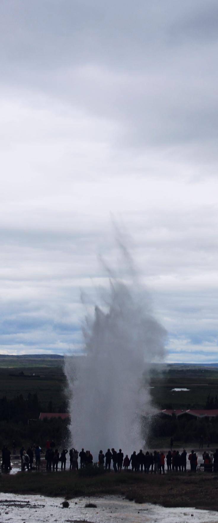 Icelandic Geyser.