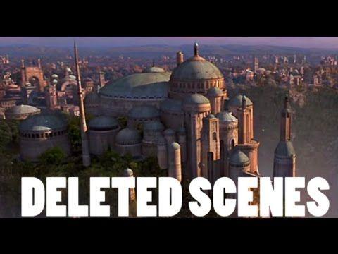 Escenas eliminadas de Star Wars Episodio I – La Amenaza Fantasma.