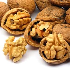 """The fruit of the walnut tree, which grows throughout the world in temperate climates. The two main varieties are Persian/English and Black. The Persian walnut is often incorrectly known as """"English Walnut"""" in the US.The black nuts are edible, but have a smaller kernel and an extremely tough shell and are not widely grown for nut production. Walnut seeds are high density source of nutrients"""