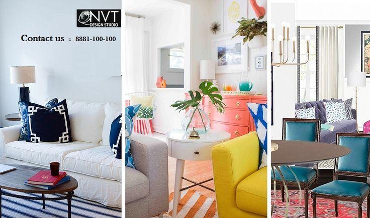 Traditional Living Room by NVT Design Studio www.nvtdesignstudio.com