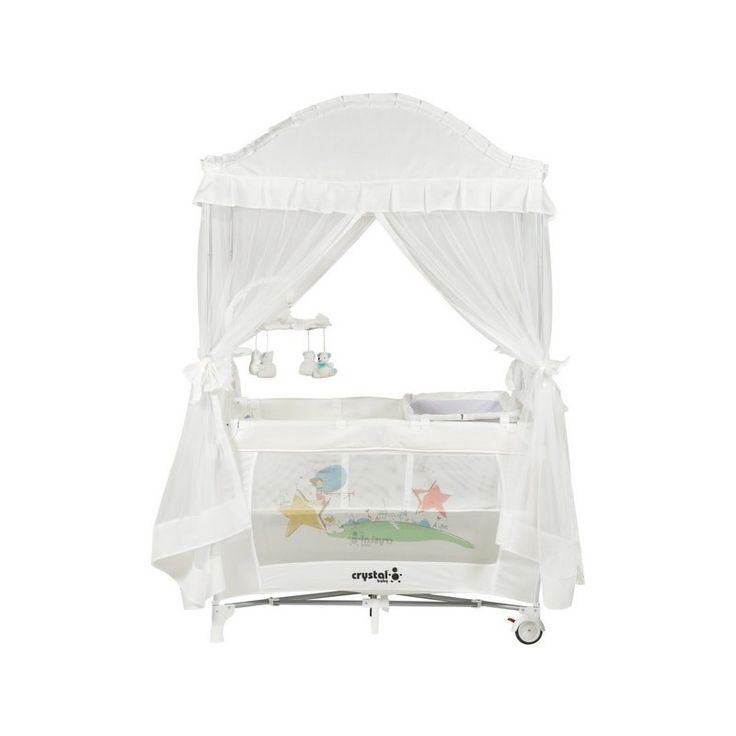 Bebolly Kids ~ Crystal Baby 407 Cenova  Oyun Parkı Beyaz
