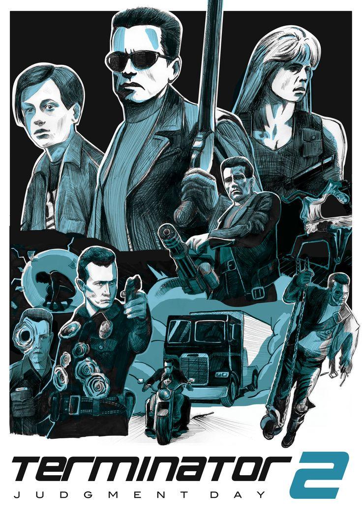 Terminator 2 film poster