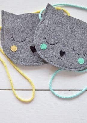 Kinder Tasche Geldbörse für Mädchen von SewManUniverseMaster