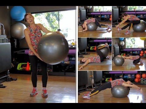 Exercícios com bola para aliviar dor nas costas