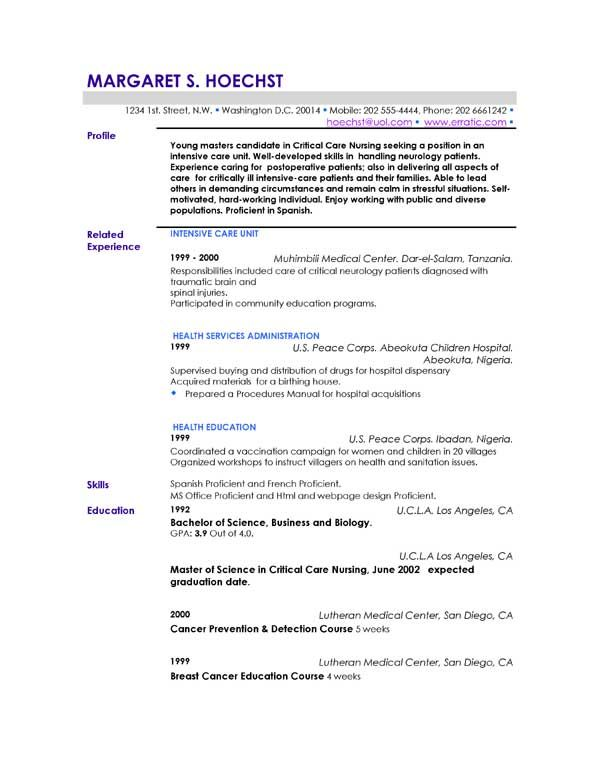 Más de 25 ideas únicas sobre Resume profile examples en Pinterest - resume profile statement examples