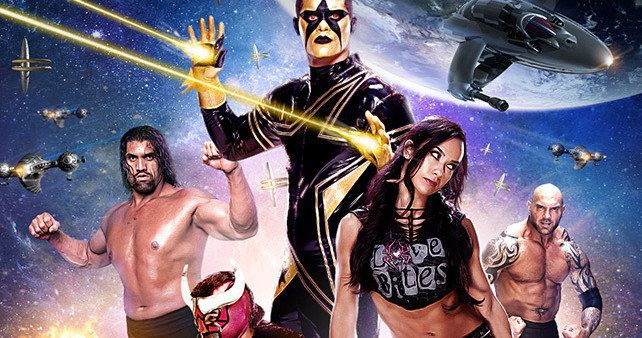 WWE Posters Parody 2014 Summer Blockbusters -- WWE Superstars such as Brock Lesnar and Daniel Bryan parody summer hits 'Neighbors', 'Maleficent' and 'Guardians of the Galaxy'. -- http://www.movieweb.com/wwe-posters-summer-blockbusters-2014