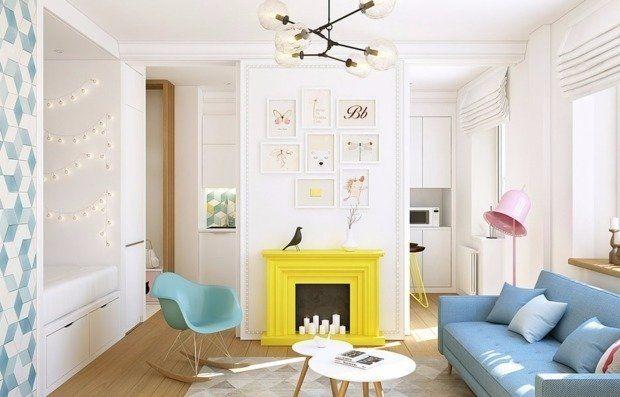 72 полезные находки для интерьера спальни-гостиной | Свежие идеи дизайна интерьеров, декора, архитектуры на INMYROOM