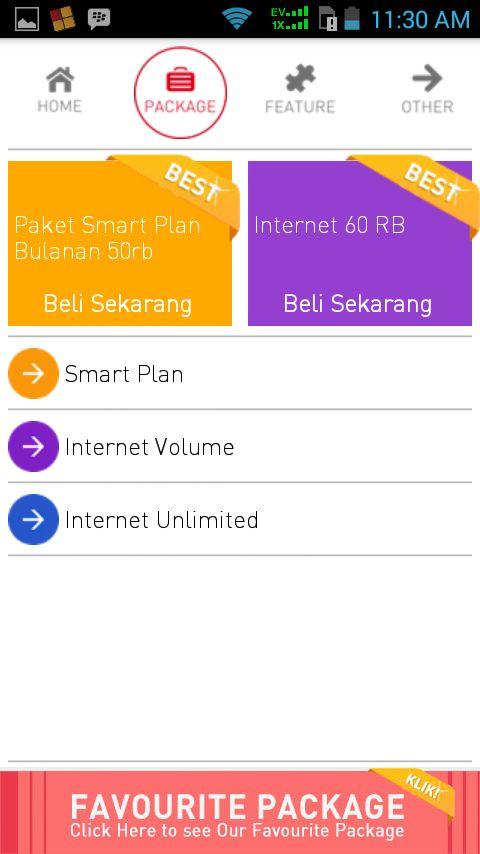 Smartfren Customer Info v.5.0.0 APK DOWNLOAD http://bocilandroid.blogspot.com/2014/07/smartfren-customer-info-v500-apk.html