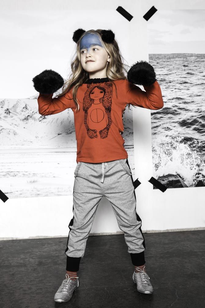 I think this label is Awesome : Iglo & indi winter 2014 2015 kidsfashion