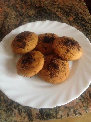 Una Vegetariana Creativa :): ENGLISH VERSION: COOKIES! #COOKIES #CHESTNUTS #RAISINS