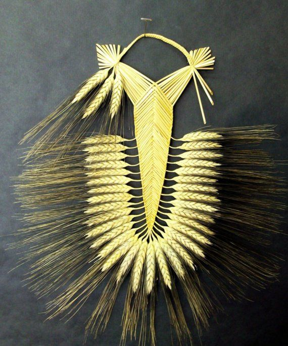 corn dolly? would like to learn how to weave wheat