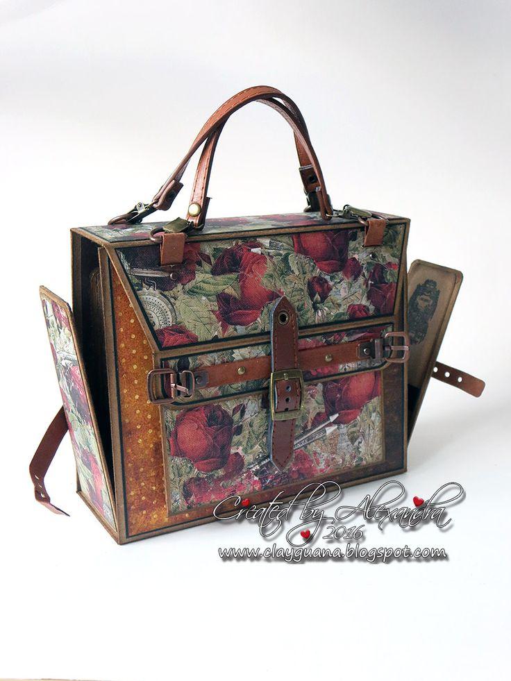 *ClayGuana: Prima Stationer's Desk for the Purse/Photo Bag Mini Album