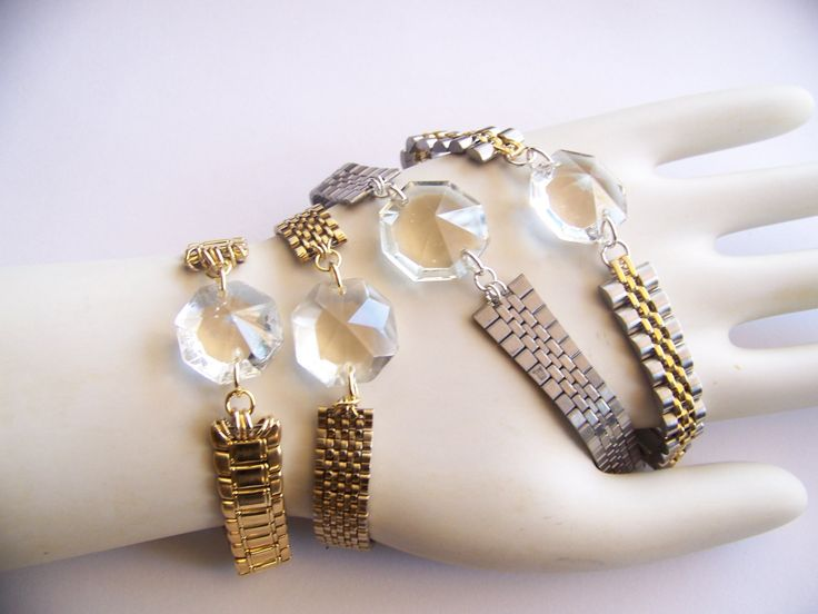 reworked jewelry and crystals