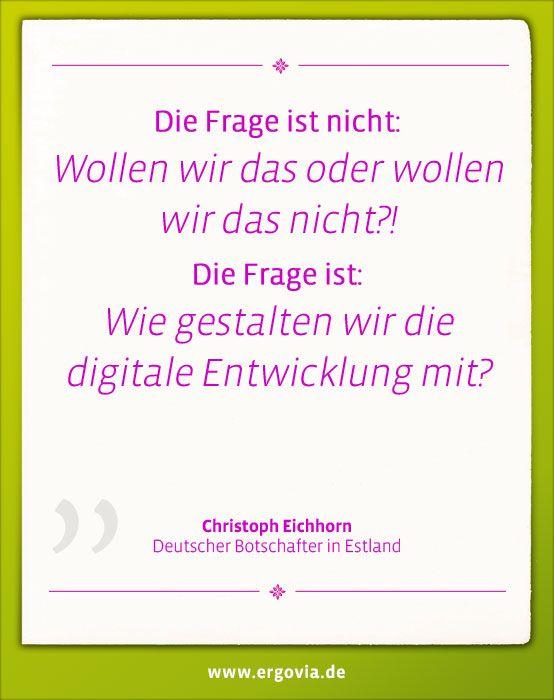 Die Frage ist nicht: Wollen wir das oder wollen wir das nicht?! Die Frage ist: Wie gestalten wir die digitale Entwicklung mit? Christoph Eichhorn. Mehr zur Bildungsreise unter: http://www.ergovia.de/ergovia-startseite/#start Alle Bildungsvideos unter:  https://www.youtube.com/playlist?list=PLUDl3h1tKR5MkeZL3AvKGyTvkEs7o919m  #Estland #Schule #Digitalisierung #Unterricht #digital #Schulsoftware #Lehrer #teacher #school #ergovia #software