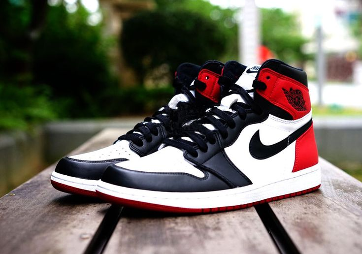 "#sneakers #news  Latest Preview Of The Anticipated ""Black Toe"" Air Jordan 1's Return"