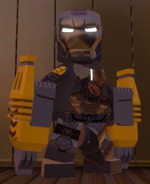 Anthony STARK (IRON MAN)   Earth 13122   Mark XXV   Lego Marvel SUPER HEROES