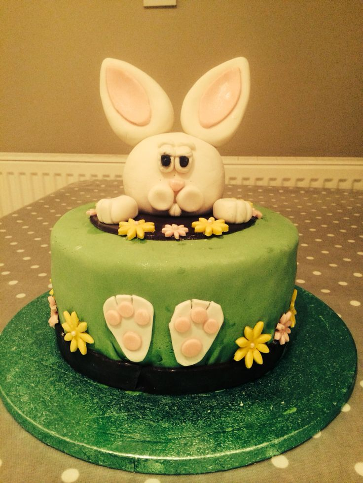 Bunny cake  I made for easter