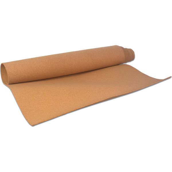 "Natural Cork Roll - 1/8"" Thick - 4'W x 8'L at SCHOOLSin"