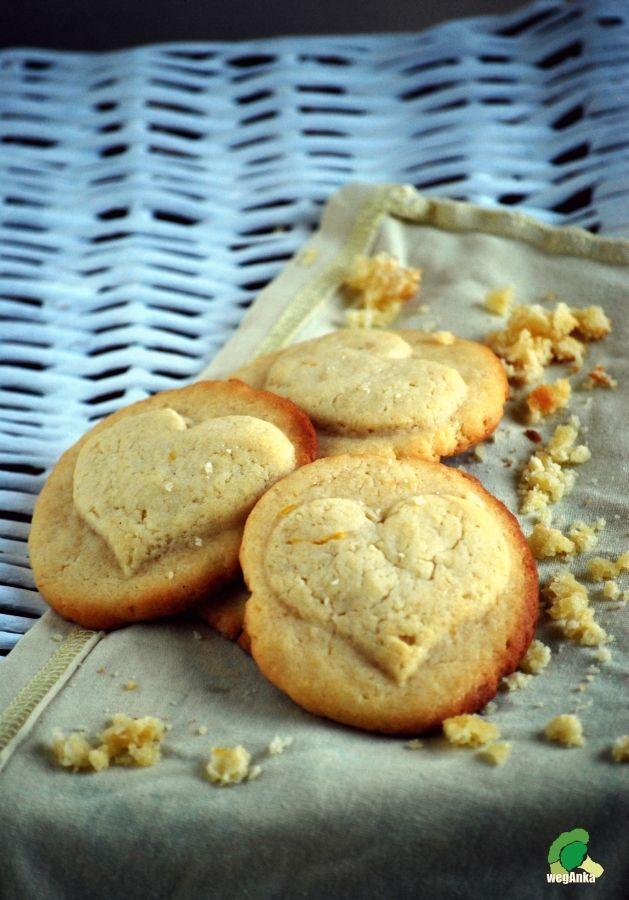 Kuchnia wegAnki: Cytrynowe ciasteczka