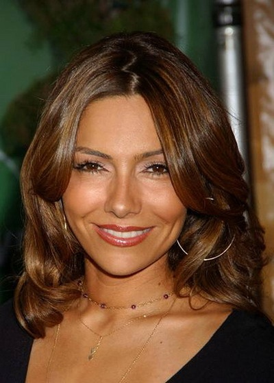 Vanessa Marcil- pretty hair color/highlights