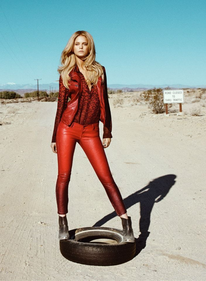 Kate Bock for Guess Fall/Winter 2013 Campaign by Raphael Mazzucco