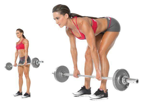 peso-muerto-rumano-entrenamiento para chicas