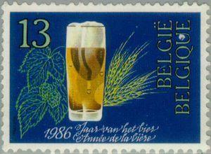 Belgium, 1986. Year of Belgian Beer